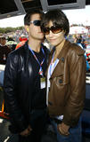 Katie Holmes and Tom Cruise at the Red Bull US Moto Grand Prix - California 20.7.08